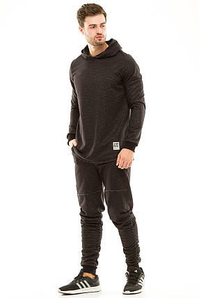 Спортивный костюм 427 черный, фото 2