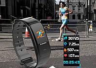 Фитнес браслет M3 + приложение! 7 функций, бег, фото, плеер, сердце.. русский язык, звонки