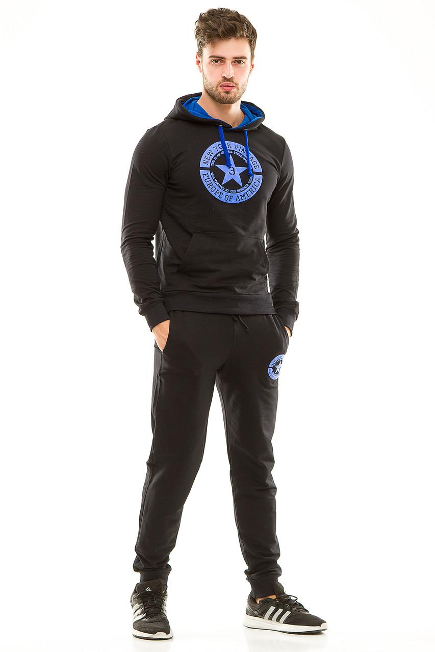 Мужской спортивный костюм 430 темно-синий 50