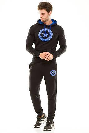 Мужской спортивный костюм 430 темно-синий 50, фото 2