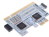 POST карта TL460s Plus PCI PCI-E LPC  для тестирования материнских плат и персонального компьютера