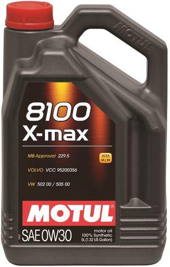 Моторное масло Motul 8100 X-MAX 0W30 5L