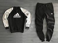 Теплый костюм спортивный Адидас Adidas комбо (РЕПЛИКА)