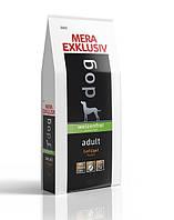 Сухой корм без пшеницы Meradog exklusiv adult для взрослых собак с курицей 070755, 1 кг