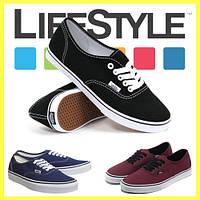 Новые стильные кеды Vans (Ванс, Вансы) Authentic. Разные цвета!, фото 1