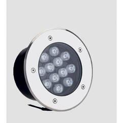 Светильник LED тротуарный Lemanso 12LED RGB 12W 600LM / LM999  Красный, синий, зеленый, желтый