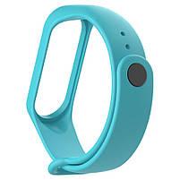 Ремешок для фитнес браслета Xiaomi Mi Band 3 и 4 Turquoise, фото 2
