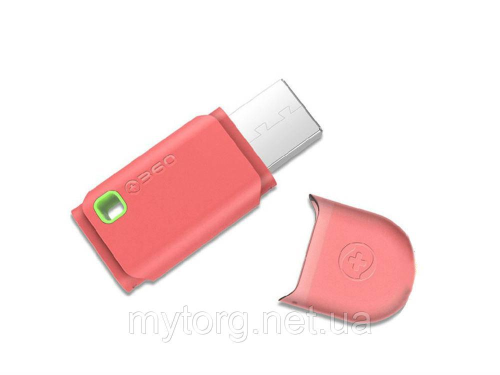 Портативный USB Wi-Fi маршрутизатор 300 Mbit  Розовый