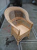 """Кресло из лозы """"Капля №2"""""""