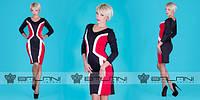 Платье трикотажное короткое оптом и в розницу, фото 1