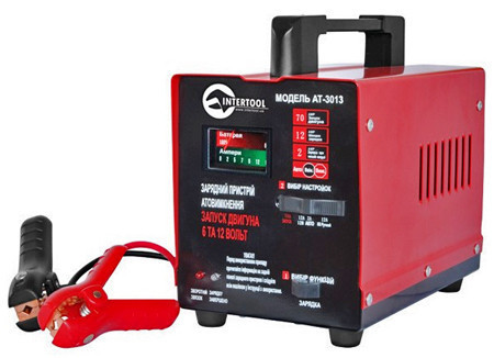 Зарядное для аккумуляторов INTERTOOL AT-3013