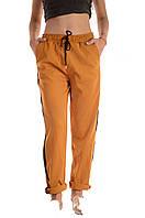 Модные брюки с лампасами оптом Wiya, фото 1