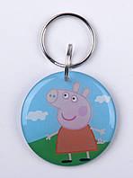 """Заготовка ключа для домофона RFID 5577, """"Свинка Пеппа"""", перезаписываемая"""