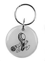 """Заготовка ключа для домофона RFID 5577, """"Ключик"""", перезаписываемая"""