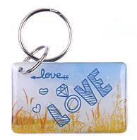 """Заготовка ключа для домофона RFID 5577, """"Love 2"""", перезаписываемая"""
