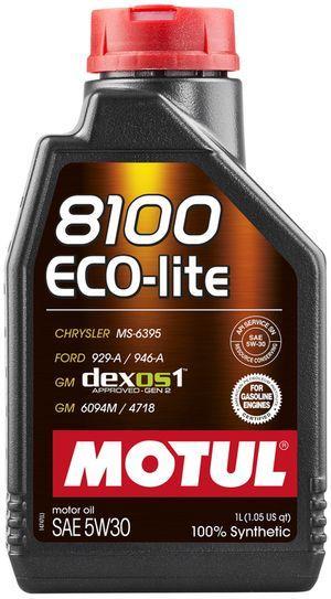 Моторное масло Motul 8100 ECO-LITE 5W30 1L