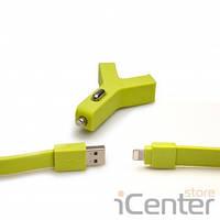 Автомобильное зарядное устройство TYLT for IPhone 5S Y-CHARGE Car Charger - GREEN (IP5-YCHGG-T)
