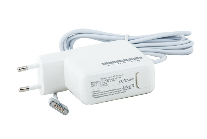 Блок питания для ноутбуков PowerPlant APPLE 220V, 45W: 14.85V 3.05A (MagSafe2)