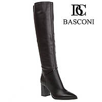 Сапоги женские Basconi (классический дизайн, острый носок, стильные, изысканные, элегантные) 40