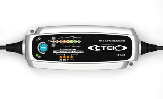Зарядное устройство CTEK MXS 5.0 TEST CHARGE
