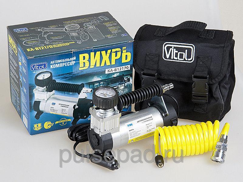 """Электрический компрессор Vitol КА-В12170 """"Вихрь"""""""