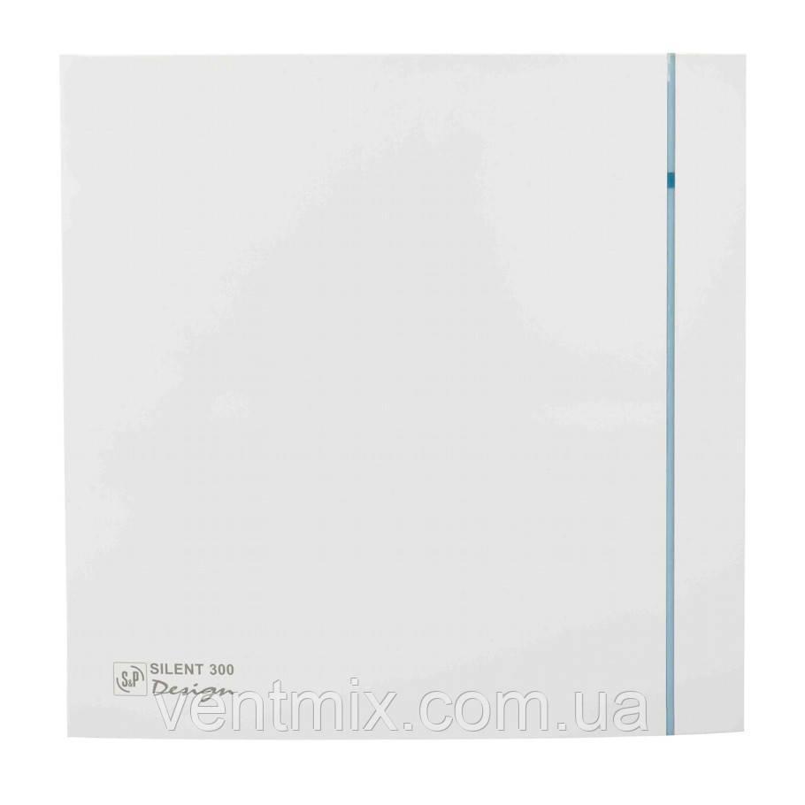 Вентилятор вытяжной малошумный Soler & Palau Silent 300 CHZ Plus Design 3C