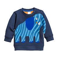 Толстовка для мальчика Синий слон Little Maven, фото 1