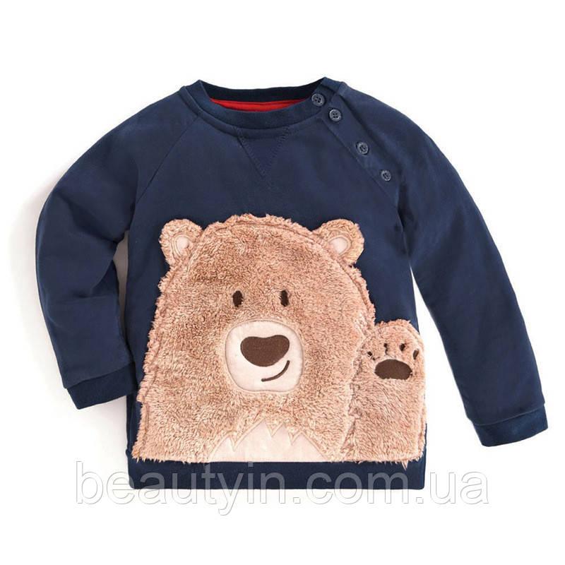 Толстовка для мальчика Bear Brown Little Maven