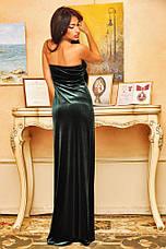 Платье бархат в пол, фото 3