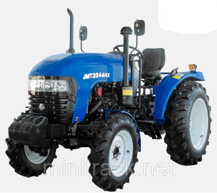 Трактор JINMA, JMT3244HX, (24л.с., 4х4, 3 цил., ГУР, широкая резина)