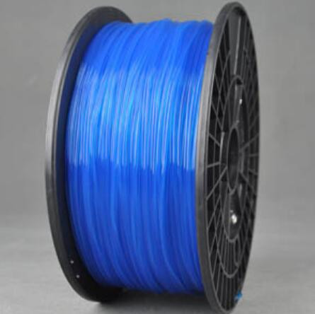 PLA-пластик для 3D-принтера 1.75 мм 1 кг Translucent Blue