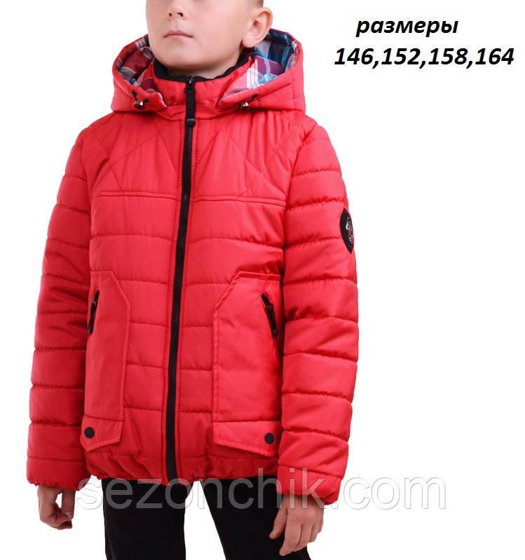 Куртки для мальчиков подростков весенние с капюшоном