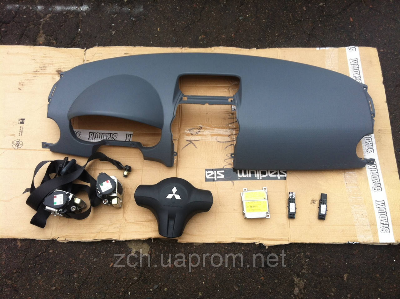 Комплект безопасности Mitsubishi Colt