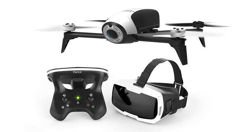Квадрокоптер для видеосъемки Parrot Bebop 2 With FPV
