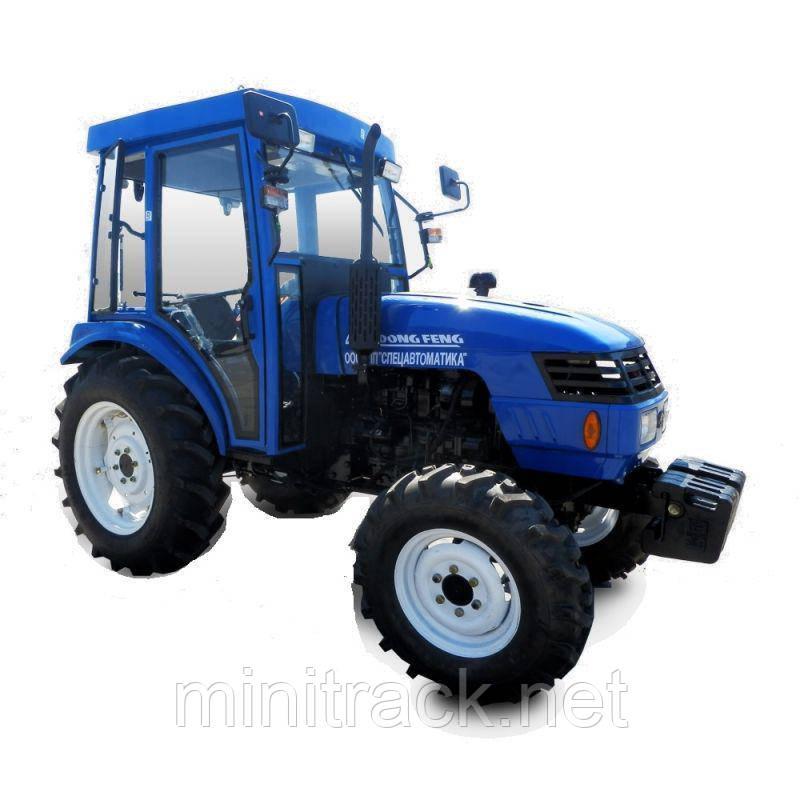 Трактор DONGFENG DF404DHLC (кабина, 40 л.с., 4х4, 4 цил., ГУР)