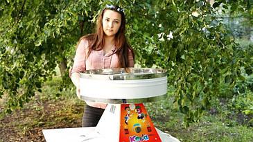 Аппарат для приготовления сахарной ваты  УСВ-4 Кеша и Вова