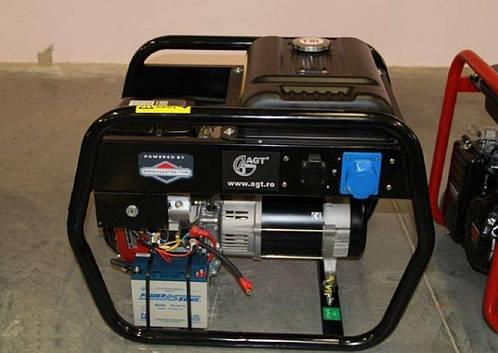 Бензиновый генератор AGT 4500 EAG