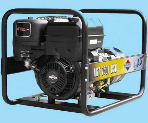 Бензиновый генератор AGT 7501 BSB SE