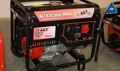 Бензиновый генератор AGT 8203 HSB TTL