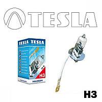 Лампа галогенная Tesla H3 (PK22s) 24V, 70W B10302
