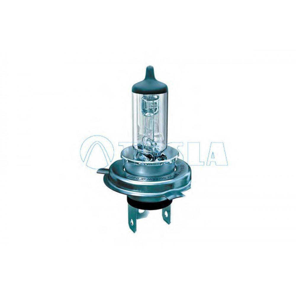 Лампа галогенная Tesla H4 (P43t) 24V, 75/70W B10402