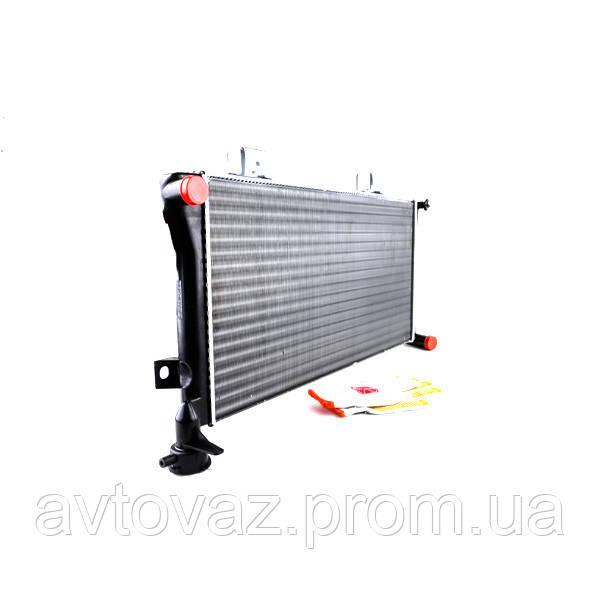 Радіатор охолодження ВАЗ 21214 Нива інжекторний основний алюмінієвий AURORA