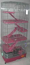 Клетка Вольер для Шиншилы, Фретки, Морской свинки, Белки, Кролика в 3 яруса.