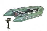 Надувная лодка KOLIBRI + Мотор PARSUN КМ-260 + Мотор Т3.6BMS(3,6 л.с.)