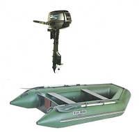 Надувная лодка KOLIBRI + Мотор PARSUN КМ-300 + Мотор F5BMS(5 л.с.)
