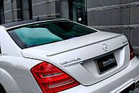 Накладка багажника, лип спойлер WALD Black Bison Mercedes W221