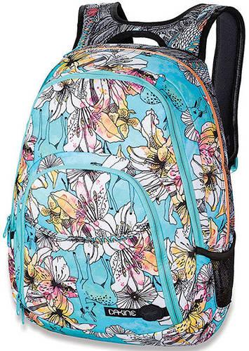 Женский рюкзак для города с принтом Dakine Eve 28L Rogue 610934829112 голубой