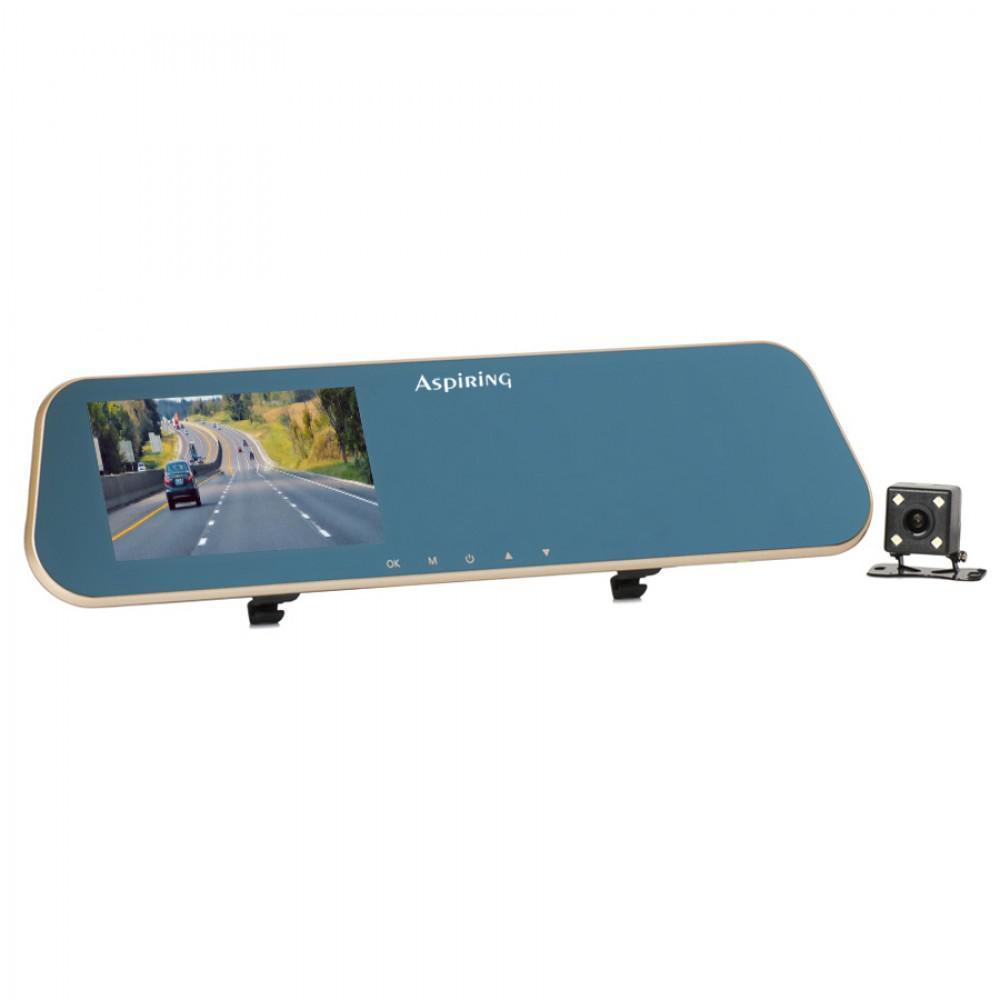 Зеркало-накладка заднего вида с Full HD регистратором Aspiring Reflex 1