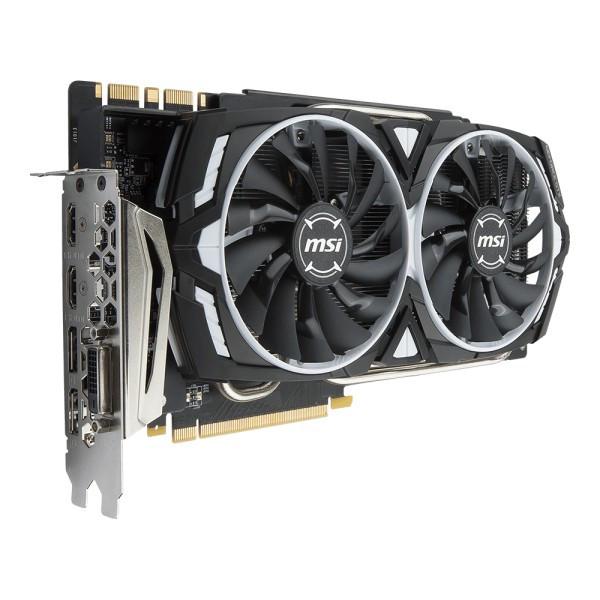 Видеокарта MSI GeForce GTX 1080 TI ARMOR 11G OC