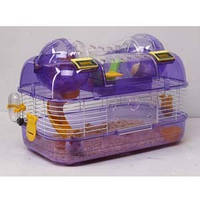 Клетка для маленьких грызунов+американская Горка+счетчик 44-27-29 см